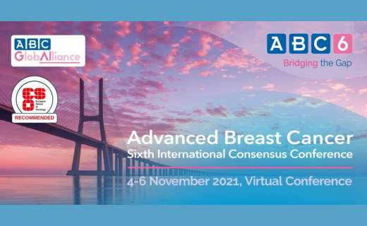 The 6th International Consensus Conference for Advanced Breast Cancer will take place in November