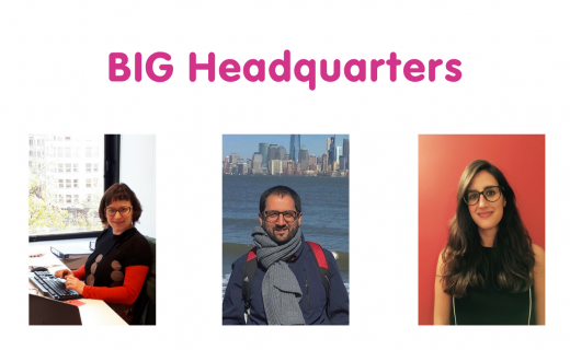 New to the BIG HQ Team