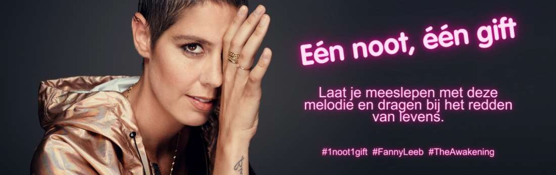 Fanny Leeb - French singer located in montreux in support of breast cancer research