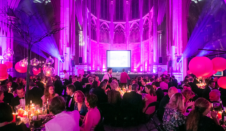 Pink is the new black dinner party, 11 October 2019   BIG